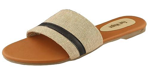 82edc61c6 Foot Wagon Tan Flats