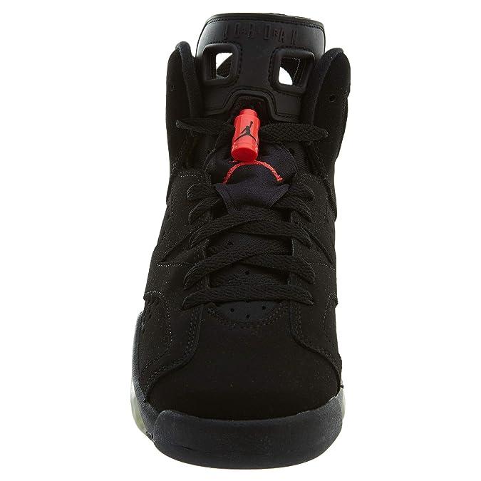 quality design 561a1 008b8 Nike Air Jordan 6 Retro BG, Chaussures de Sport garçon - différents Coloris  - Noir Rouge (Black Infrared 23), 35 1 2 EU EU  Amazon.fr  Chaussures et  Sacs