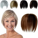 Hair Toppers for Women Wiglets Hairpiece Crown Hair Topper for Women with Thinning Hair Light Brown