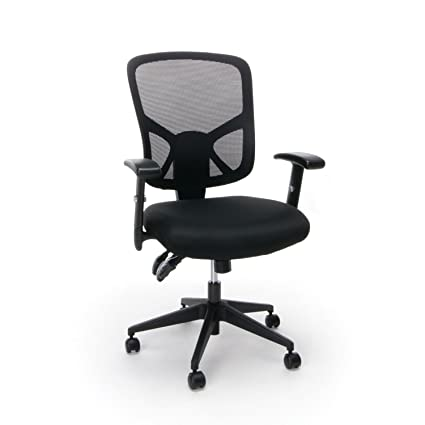 ergonomic office chairs with lumbar support. Beautiful Ergonomic Essentials Customizable Ergonomic HighBack Mesh Task Chair With Arms And Lumbar  Support  On Office Chairs With U