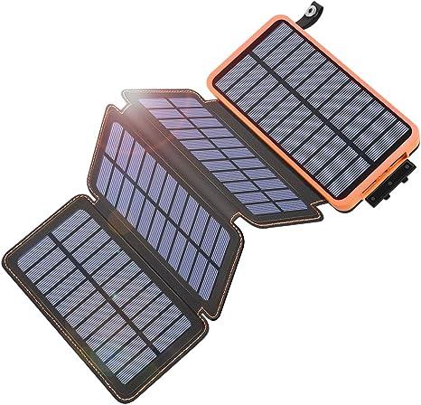 Tranmix 25000mAh Portable Solar Charger