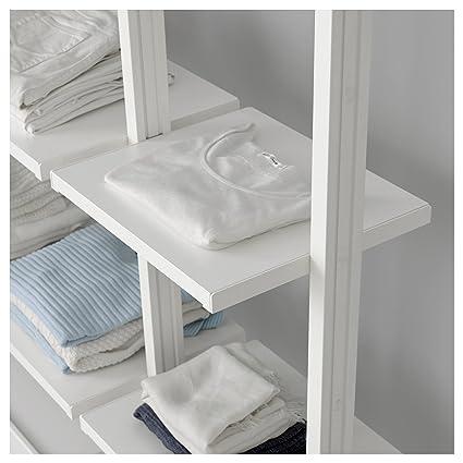 IKEA ELVARLI - Soporte para el post Blanco 2 pack: Amazon.es ...