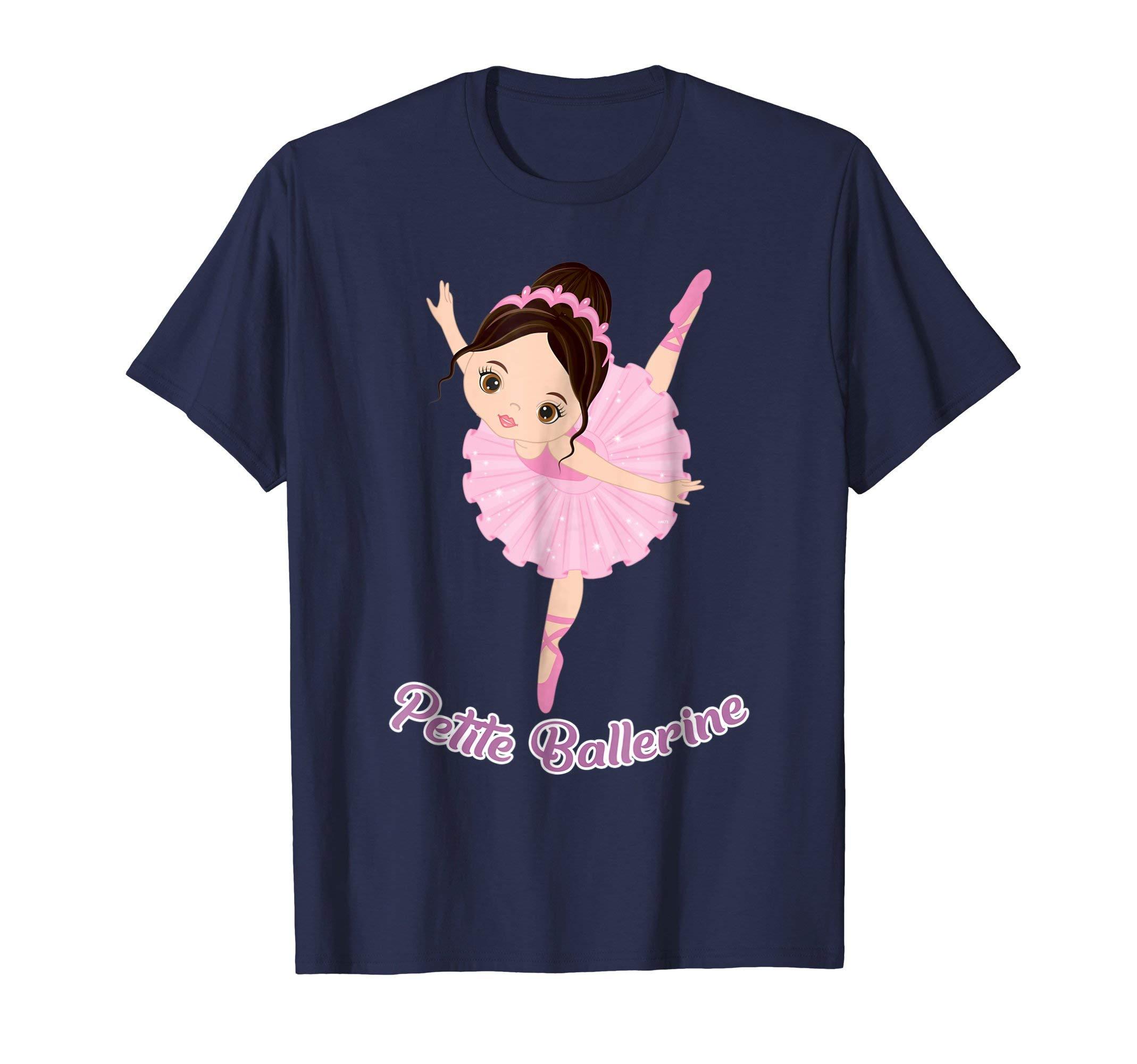 Petite-Ballerine-Dancer-Shirt-Ballet-Gifts-T-Shirt-Tee