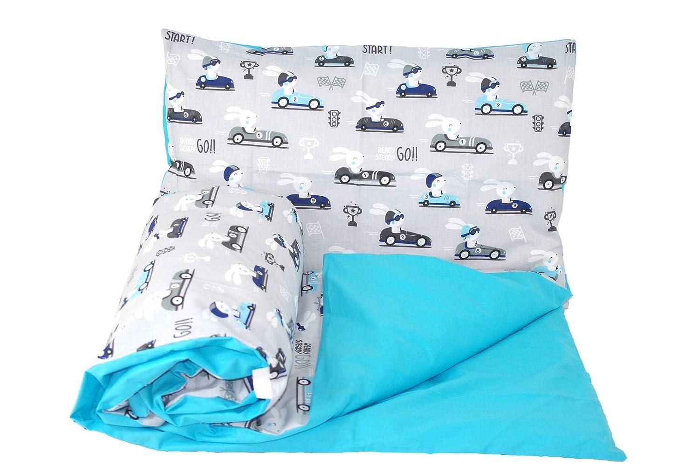 70x80cm for Cribs//prams//Moses Baskets, 14 Babys Comfort Reversible 2pcs Baby Bedding Set Duvet//Quilt Cover Pillowcase