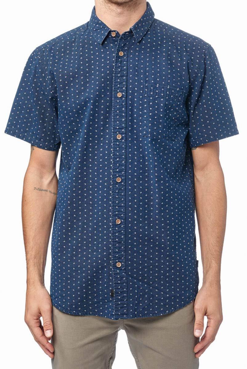 Globe Shallow SS Shirt Hemd, Herren