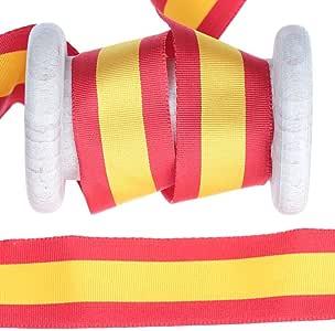 Cinta bandera España al metro – 25 mm: Amazon.es: Hogar