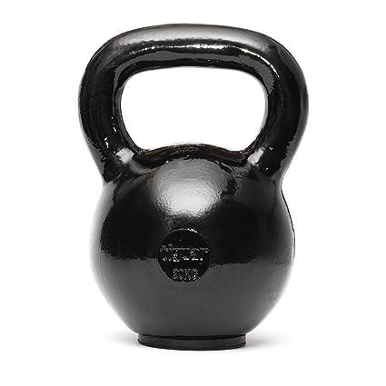 tiguar Rusa bola Pesas mano Peso Entrenamiento Entrenamiento de la Fuerza de cuerpo entero Core Entrenamiento Fitness 4 kg ...