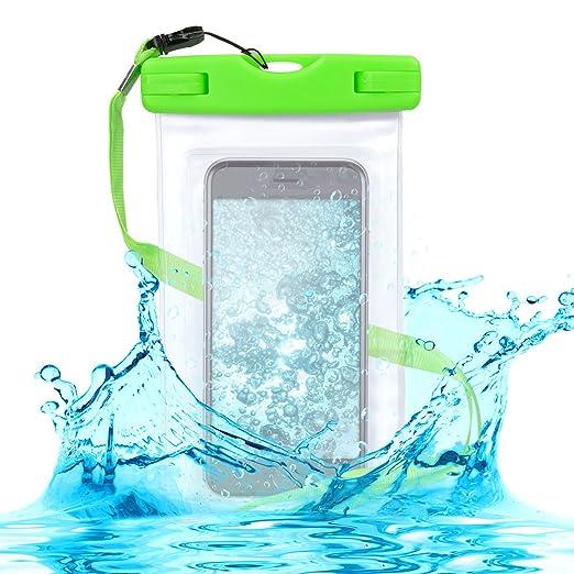 16 opinioni per Custodia impermeabile borsa da spiaggia per smartphone- kwmobile case beach bag