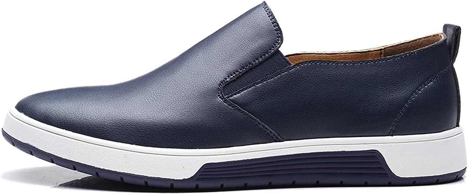 ZZHAP Mens Slip On Sneakers Casual Oxford Flat Shoes