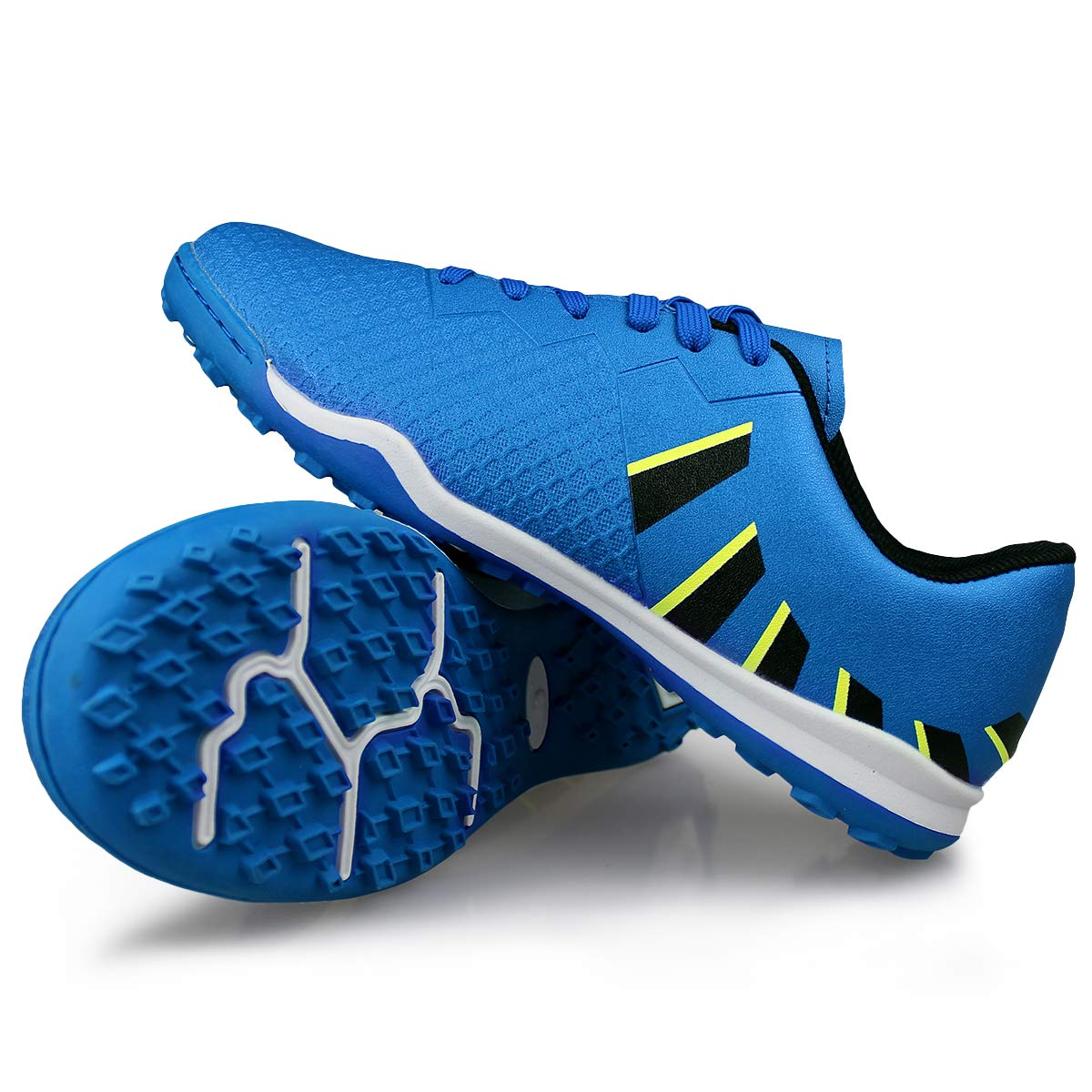Hawkwell Mens Athletic Lightweight Running Outdoor//Indoor Comfortable Soccer Shoes