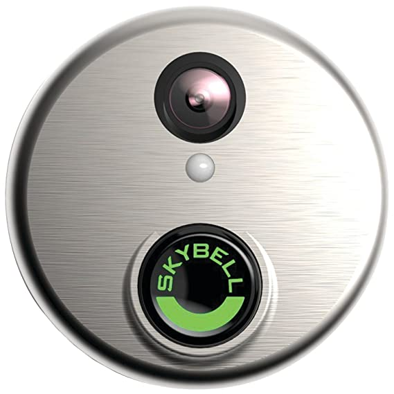 SkyBell (SH02300SL) HD Silver WiFi Video Doorbell