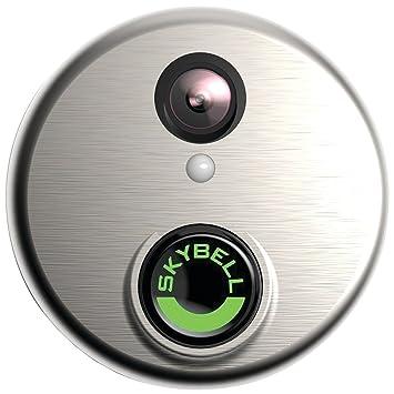 SkyBell HD Silver WiFi Video Doorbell  sc 1 st  Amazon.com & Amazon.com : SkyBell HD Silver WiFi Video Doorbell : Camera \u0026 Photo