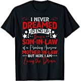 Son in Law Tshirt Birthday Gift from Awesome Mother in Law T-Shirt