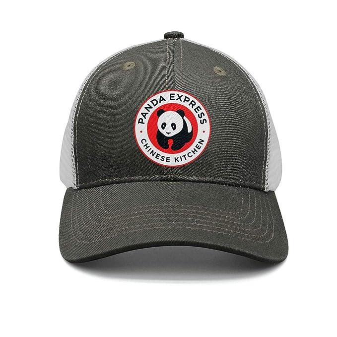 acbe09eb17a04 uter ewjrt Adjustable Panda-Express-Chinese-Kitchen- Visor Hats Pattern  Cute Caps
