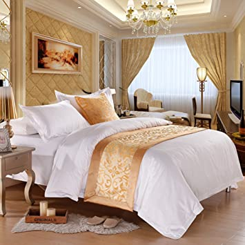 A Five Star Hotel Bed/Hotel Bed Scarf/ Bed Foot Mat/bed Part 91