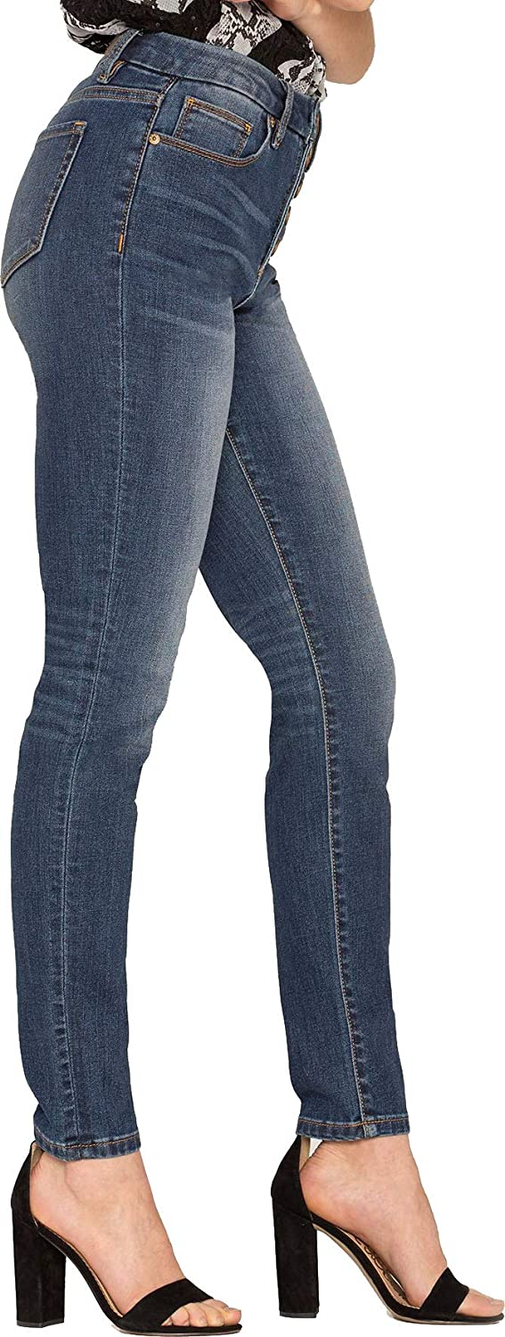 Womens H1032S Button Up Highrise Skinny Jeans Miss Me