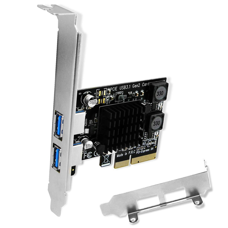 FebSmart USB 3.1 Gen 2 2X 10Gbps USB-A Puertos PCI Express U