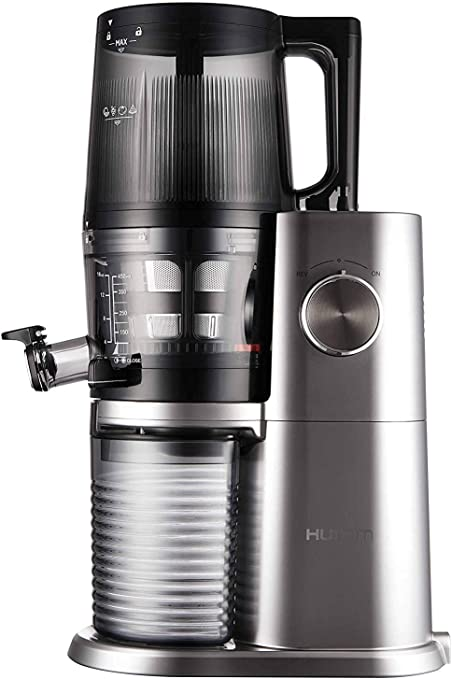 Hurom One Stop H AI Slow juicer 200W Platinum, Stainless
