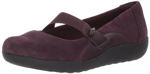 CLARKS Clarks Womens Shoe Medora Bella Aubergine 4.0 D NngZR7Ie