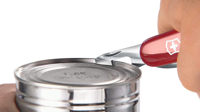 12 Funktionen rot transparent Dosen/öffner Klinge Victorinox Spartan Taschenmesser Korkenzieher