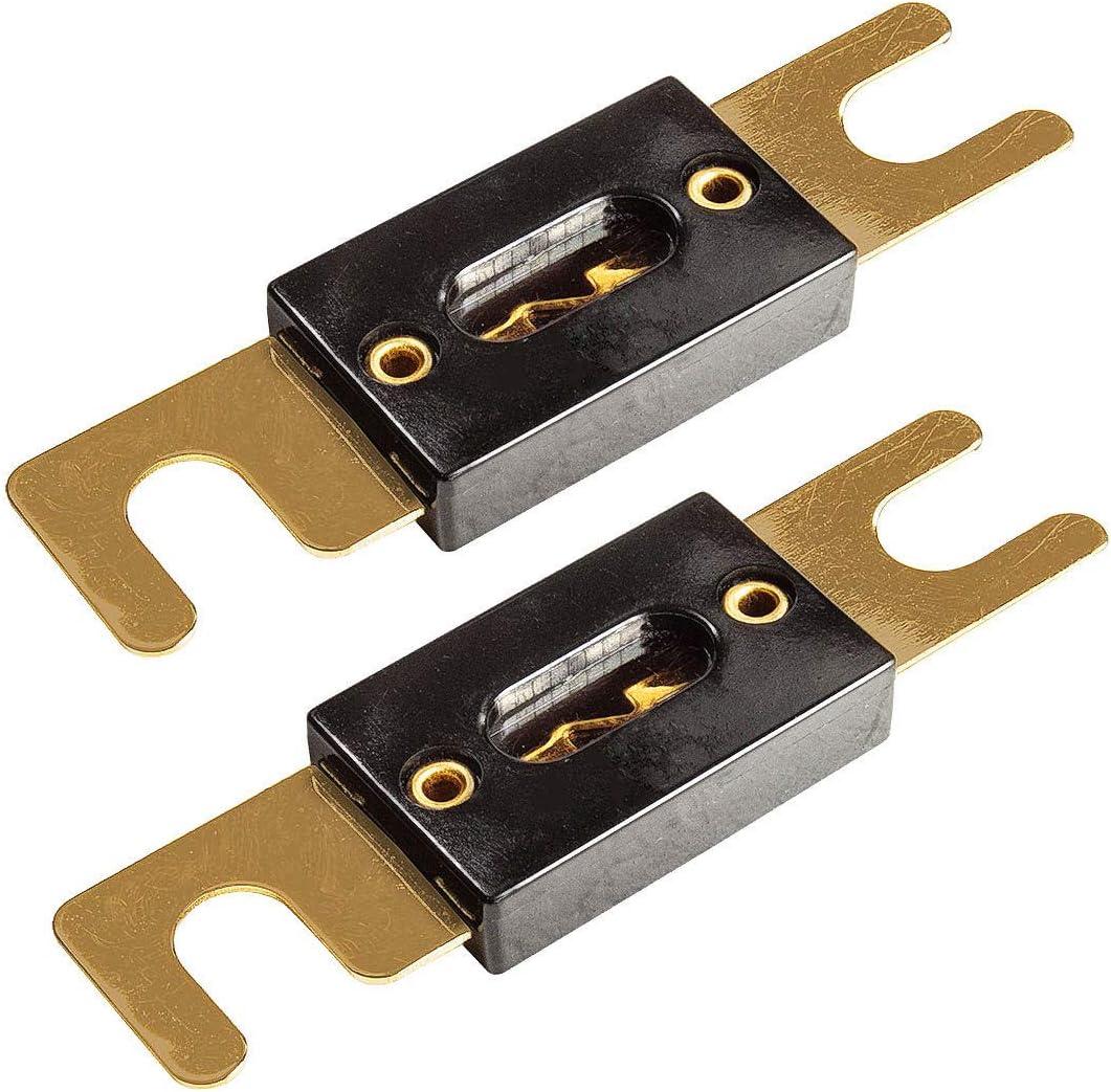Tomzz Audio 5800 022 Anl Sicherung 100a Vergoldete Elektronik