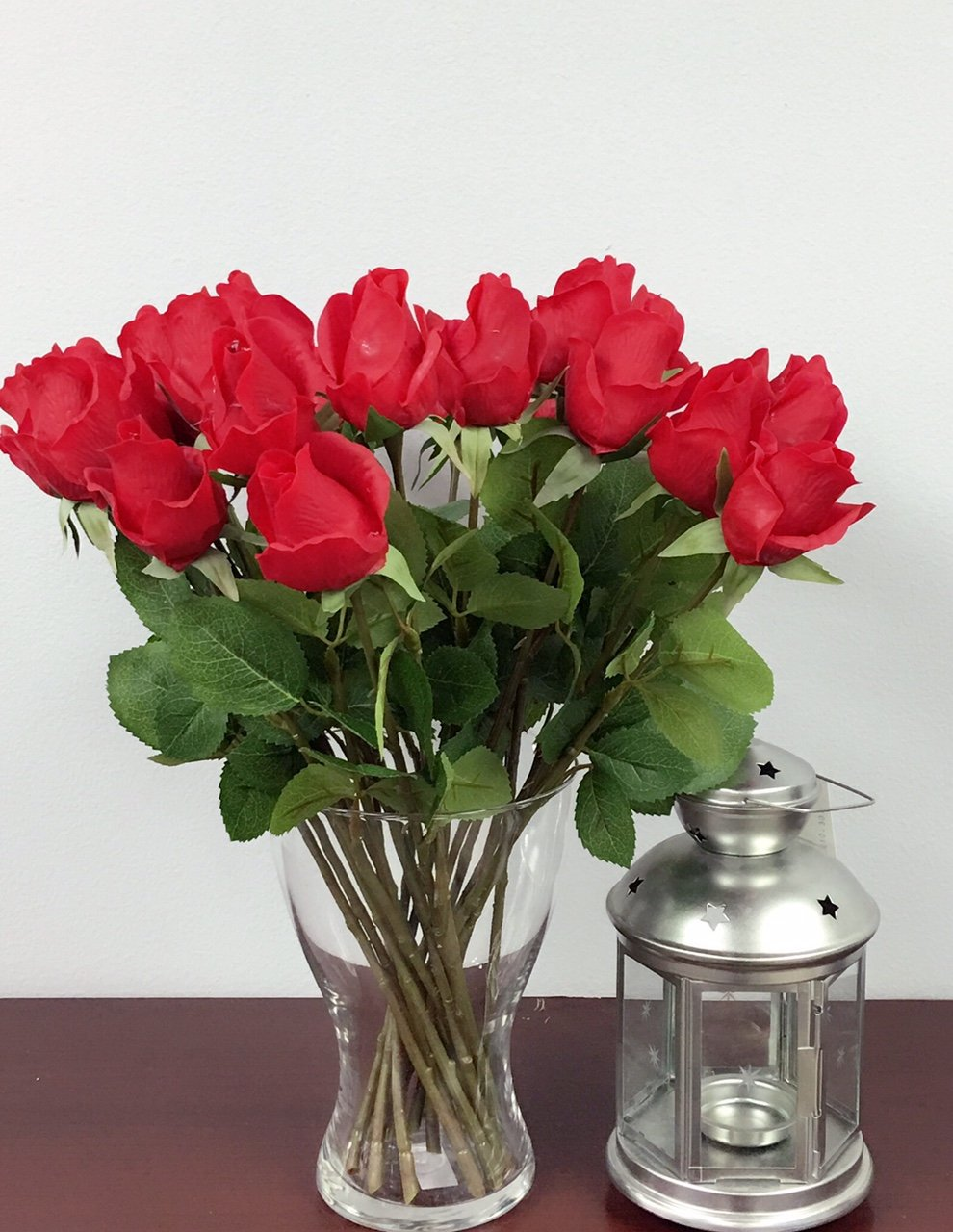 1-Dozen-Live-Feel-real-touch-artificial-long-stem-rose-with-vein-printed-leafKeepsake-flowers