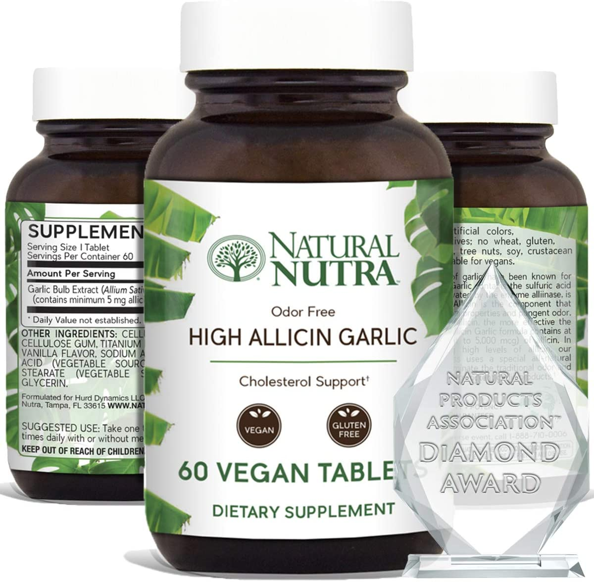 Natural Nutra High Allicin Garlic Supplement