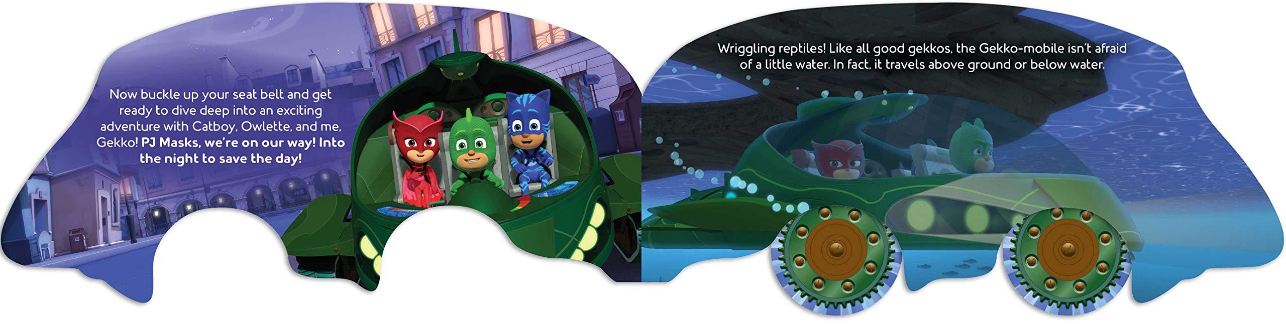 GO GO GEKKO MOBILE (PJ Masks) : Dingee, A. E.: Amazon.es: Libros