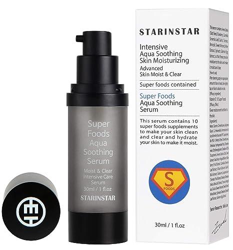 Sérum relajante de Super Foods Aqua, intensivo, hidratante para la piel, hidratante avanzada