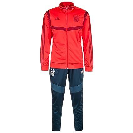 adidas FCB PES Suit Chándal, Hombre: Amazon.es: Deportes y aire libre