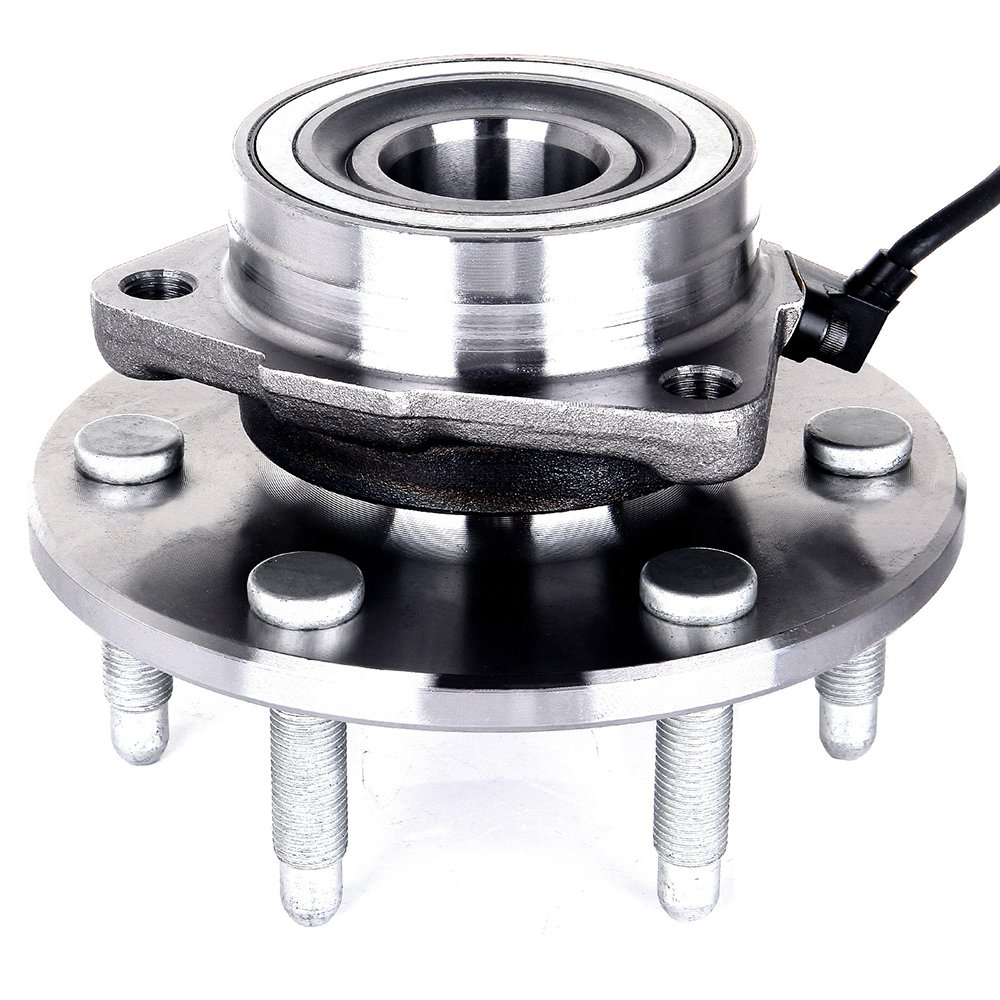 ECCPP Wheel Hub and Bearing Assembly Front 515036 fit Chevrolet Silverado 1500 GMC Sierra 1500 Cadillac Escalade Chevrolet Tahoe 1999-2007 Replacement for 6 Lugs Wheel Hub with ABS 3 Bolt Flange