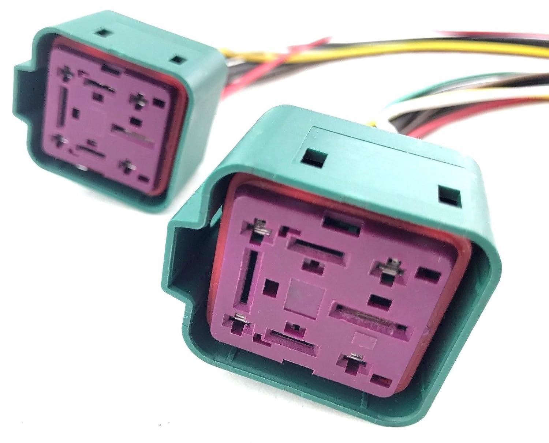 Ford F250 F350 F450 F550 Diesel Glow Plug Control Module 1995 7 3 Wiring Gpcm Connector Harness Automotive