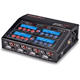 UP240AC Plus Quad 4 Port Balancing Battery Charger (4x 6Amp, 2x 12Amp, 240Watts Total) LiPo LiHV LiIon LiFe NiCd NiMH Pb AC/DC Multi-Chemistry 300W Power Supply USB Charge Port Phones/Tablets WARRANTY