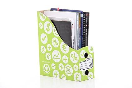 StorePAK - Archivador para documentos y revistas, color verde (10 unidades)