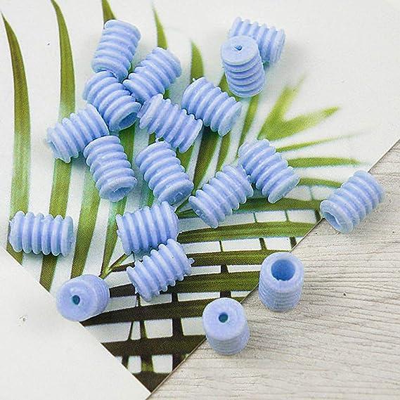 blanco y negro botones de silicona para cordones tap/ón de cuerda hebilla de ajuste el/ástica 200 cierres de cord/ón hebillas de ajuste de silicona