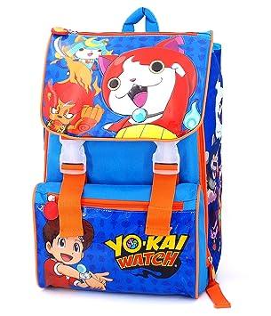 YO-KAI WATCH - MOCHILA EXTENSIBLE - ESCUELA: Amazon.es: Juguetes y juegos