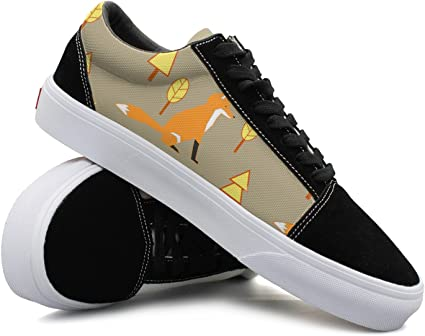 Awesome Fox Pattern Women Casual Shoes