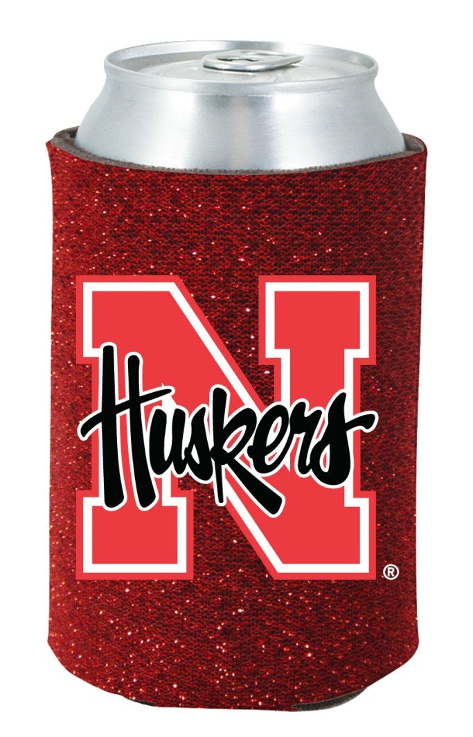 Kolder Nebraska Cornhuskers Kaddy Can Holder Glitter