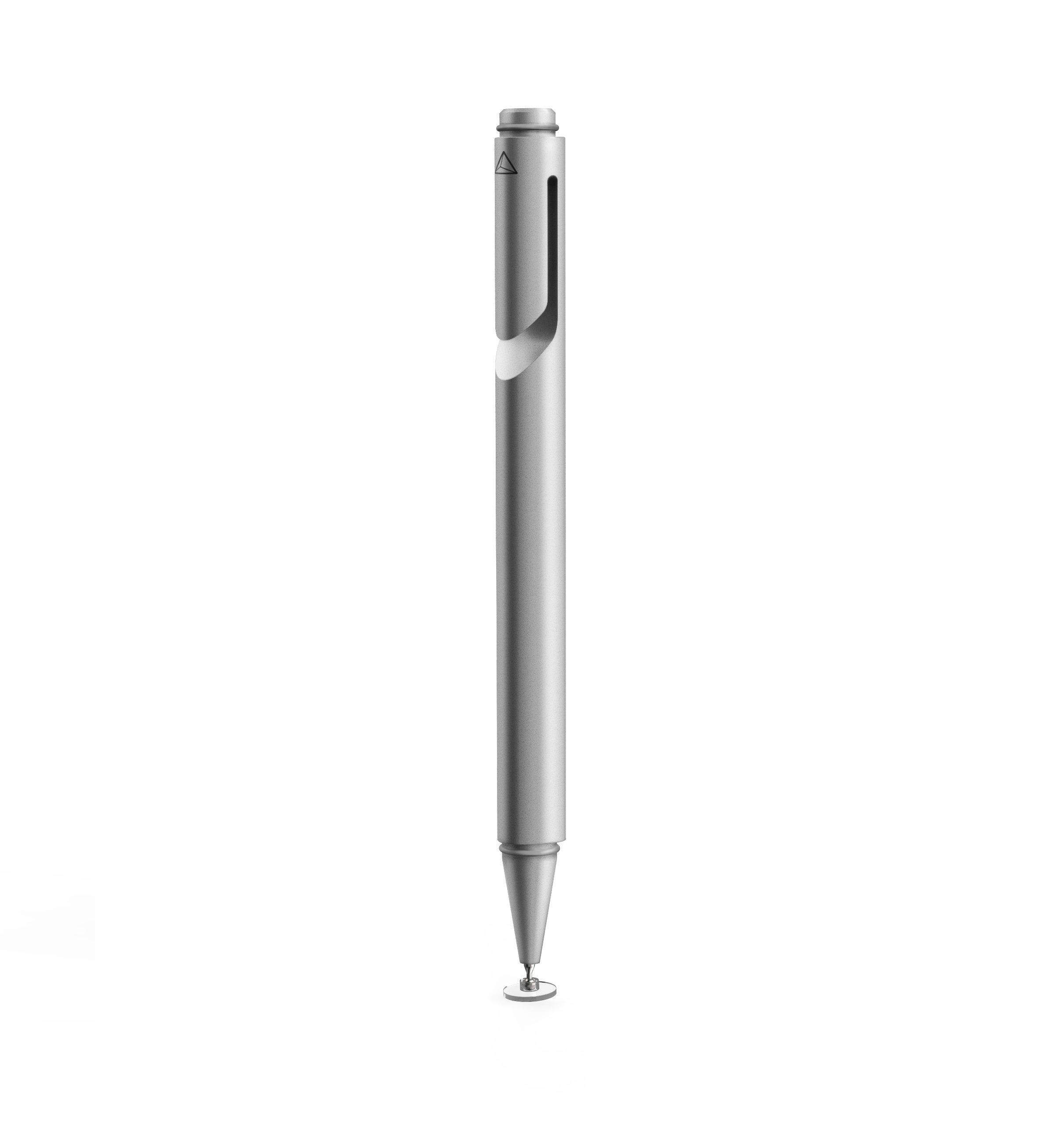 Adonit ADJM3S Mini 3 Fine Point Precision Stylus for Touchscreen Devices, Silver