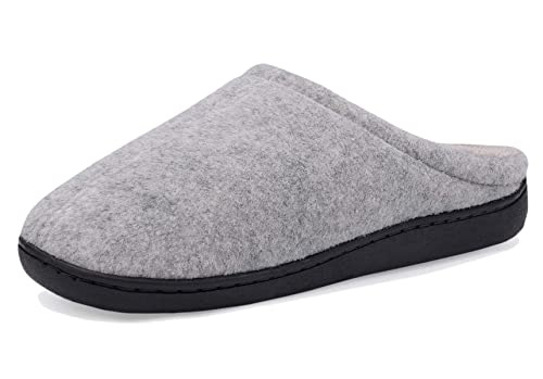 72338d814 DRSLPAR Women's House Mule Slippers Comfort Memory Foam Slip-on Indoor  Outdoor Slippers (Size 5.5 UK) Grey: Amazon.co.uk: Shoes & Bags