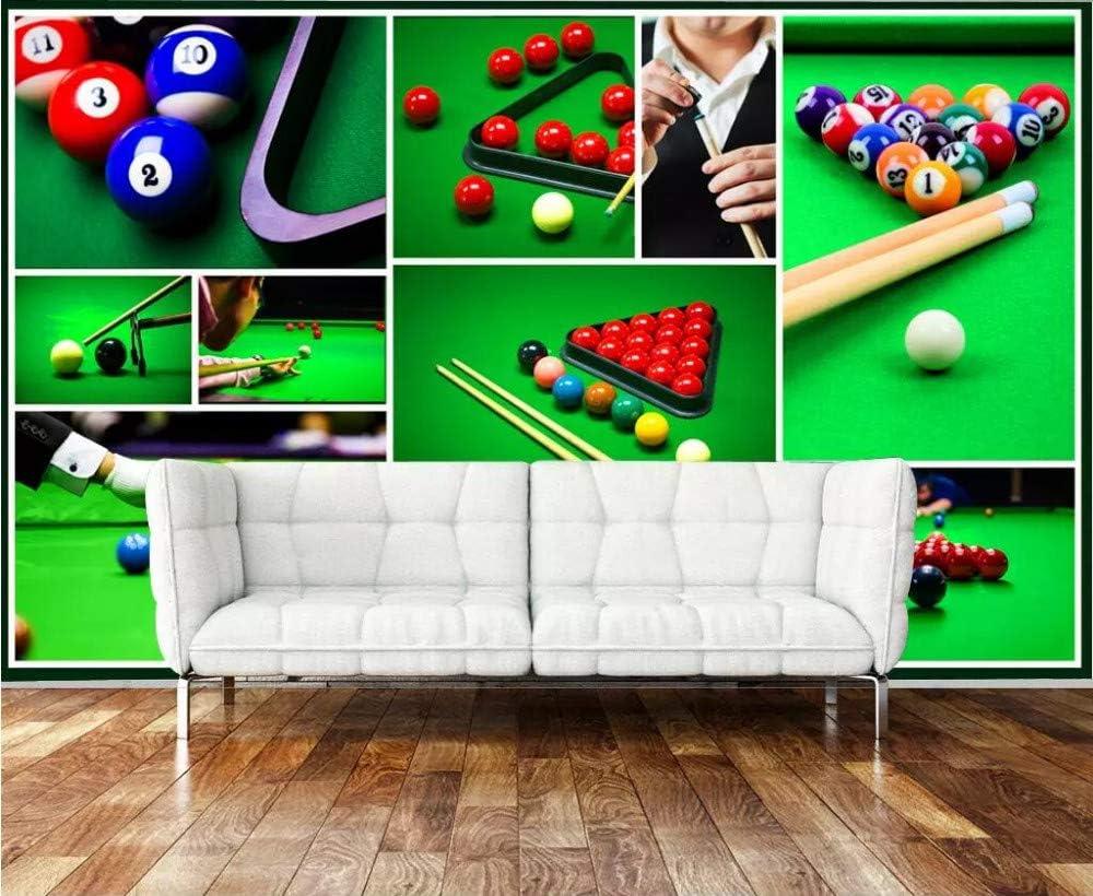 Papel Pintado 3D Murales Pared Billar Bola De Billar Foto Mural ...