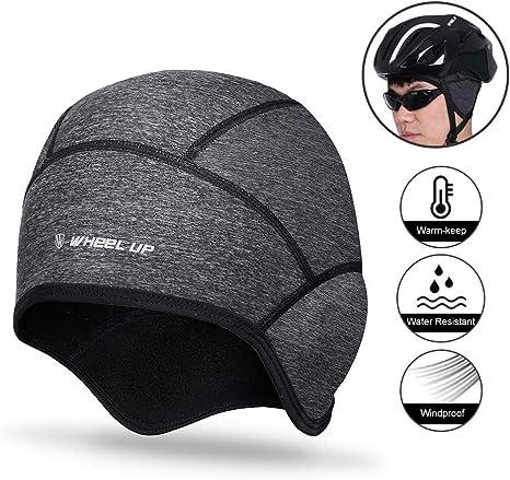Motorcycle Bicycle Inner Hat Skiing Under Helmet Liner Hat Cycling Skull Cap New