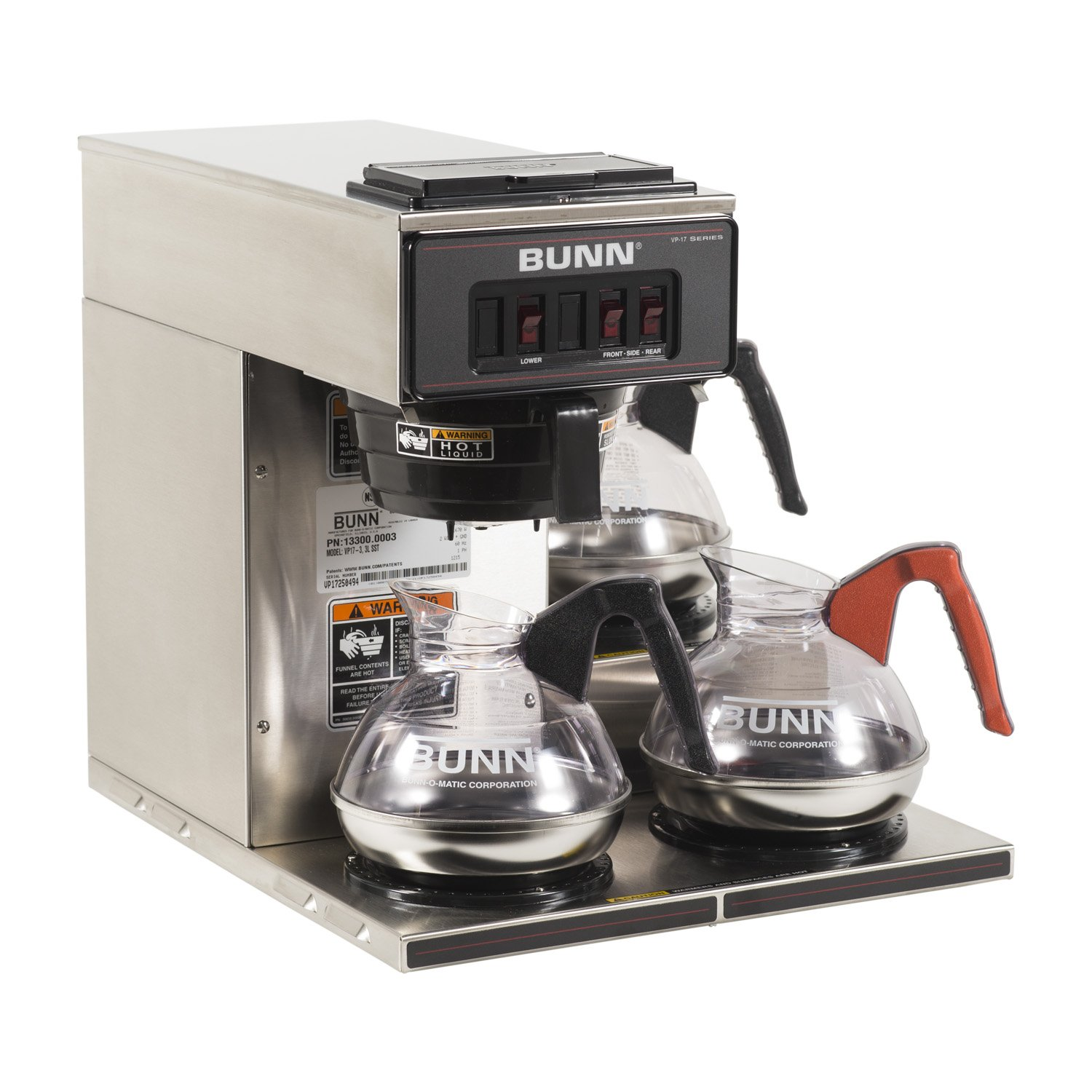 Best Coffee Maker Affordable : Restaurant Coffee Maker BUNN Commercial Best Machine Cheap w Three Lower Warmers eBay