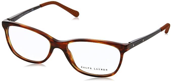 Ralph Lauren 0Rl6135, Monturas de Gafas para Mujer, Stripped Havana, 52