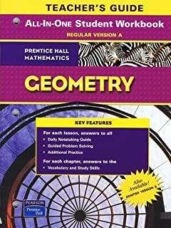 Geometry prentice hall mathematics teachers edition hall geometry teachers guide to all in one student workbook regular version a fandeluxe Image collections