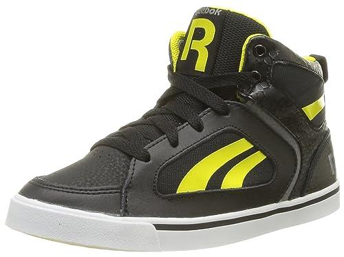 Reebok Ksee You Mid - Zapatillas de Deporte de Cuero niño: Amazon.es: Zapatos y complementos
