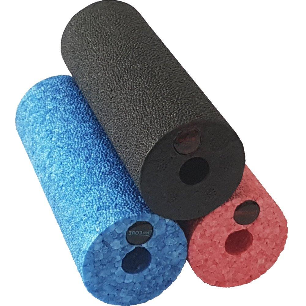 15x5.4cm Blau sehr hart hart Rot Schwarz mittlere H/ärte in 3 Farben und H/ärtegraden diMio Mini-Epp Hartschaum f/ür Unterwegs Oder bei Der Arbeit Faszienrolle
