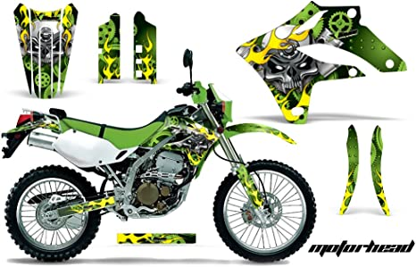 2004-2007 KAWASAKI KLX 250 KLX250 MOTOCROSS GRAPHICS KIT SUPERCROSS DECALS