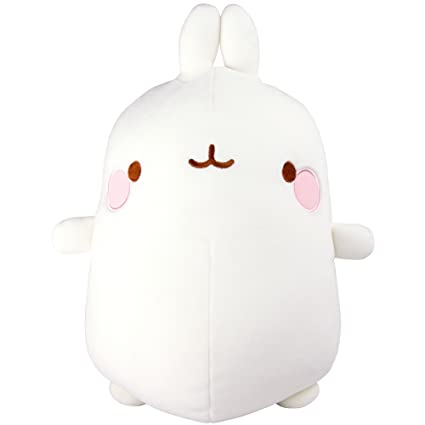 TOMY Molang Super Soft Plush Figure Molang 25 cm Peluches