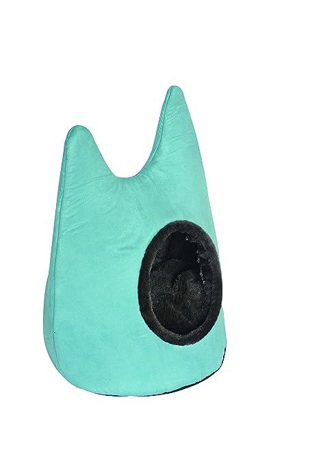 Freedog FD1000467 - Cama iglú para Gato, Color Azul